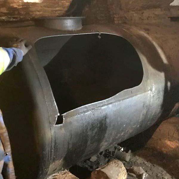 decoupage cuve fuel fioul citerne mazout reservoir hydrocarbures toulouse montauban
