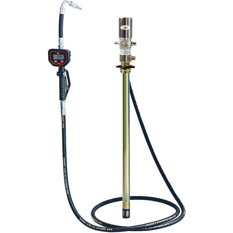 distribution fluides equipement huile 220 litres fixe