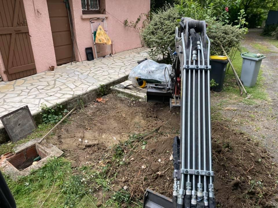 travaux abc depollution 2020 06 22 terrassement dessus cuve etancheite drainage